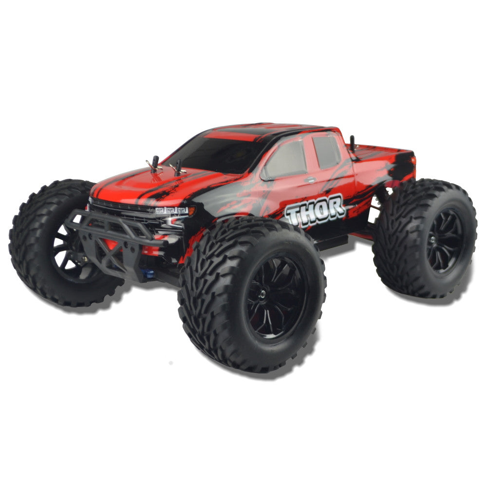 1/10 R/C Sword Brushed Electric Mega Truck (Red/Black)