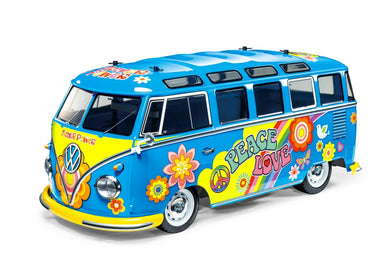 R/C 1/10 VOLKSWAGEN TYPE 2 (T1) FLOWER POWER (M05)