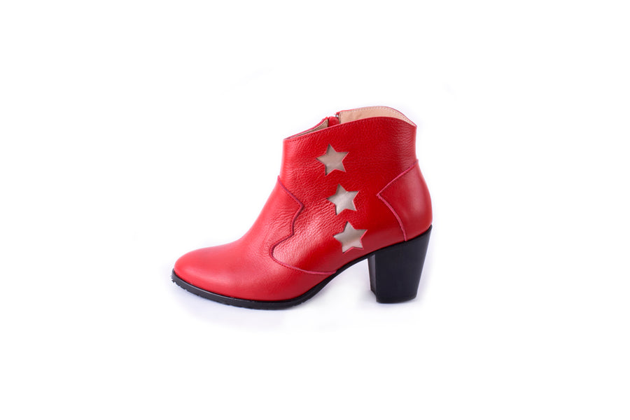 Texas Boots (Red)
