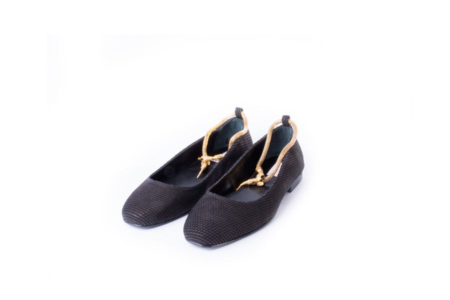 New Ballerina Snake (Black)