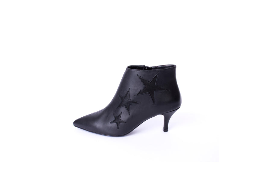 Star Bootie Black