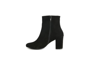 Block Heel Boots (Black)