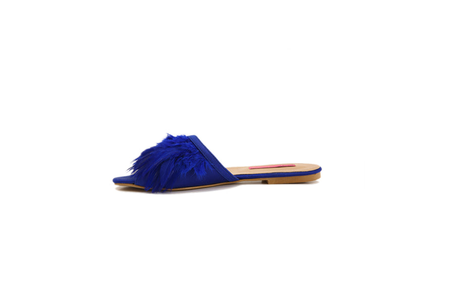Feather Slides (Blue)