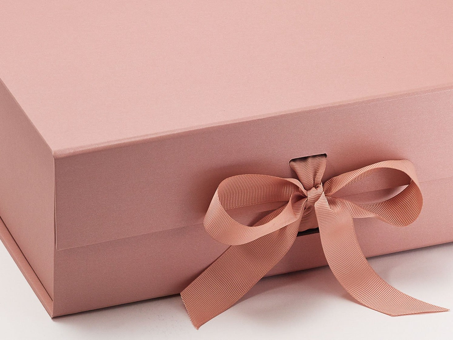 Sample Rose Gold A4 Deep Gift Box for Retail Gift Packaging ...