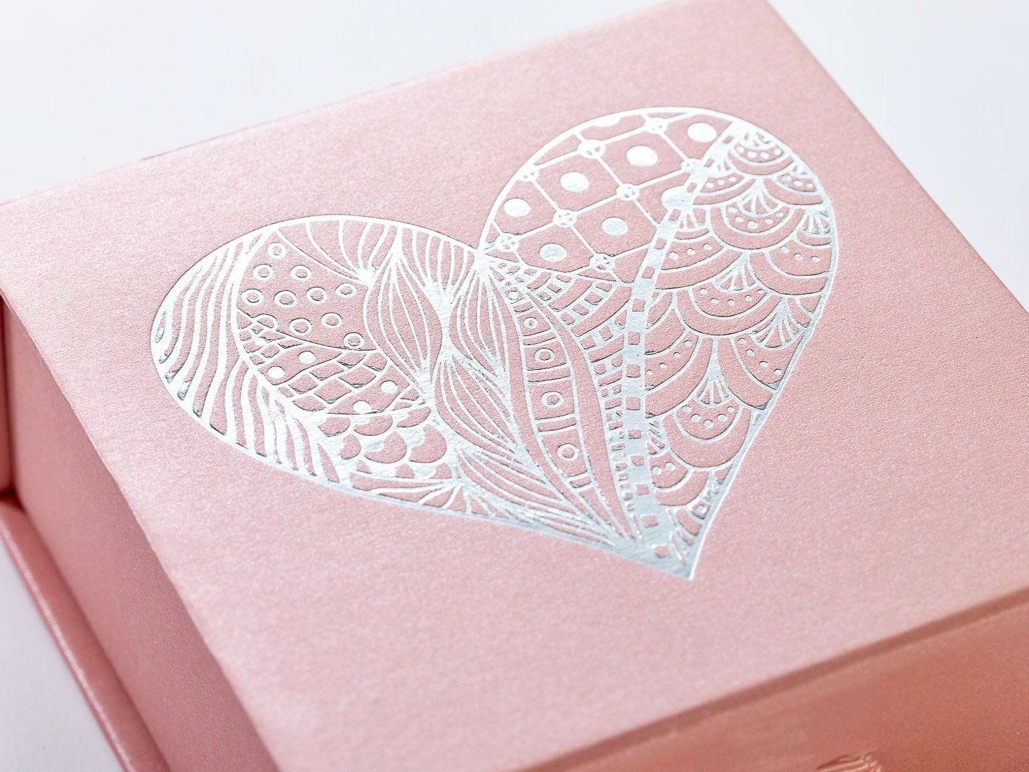 Wholesale luxury rose gold a shallow folding gift boxes