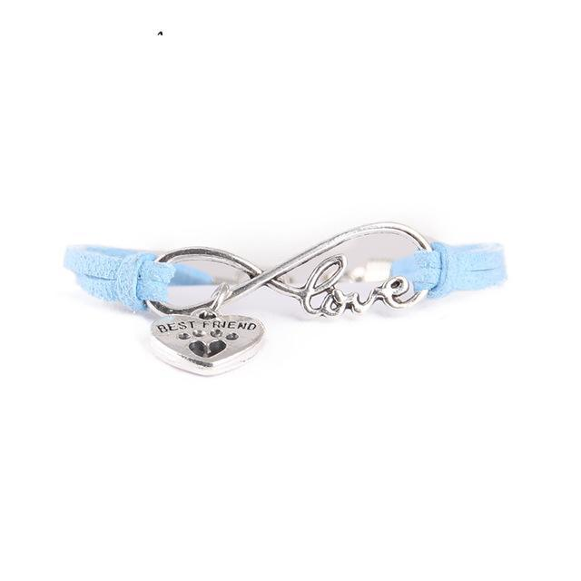 Infinite Love Dog Bracelet