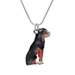 Trendy Dog Pendant Necklace