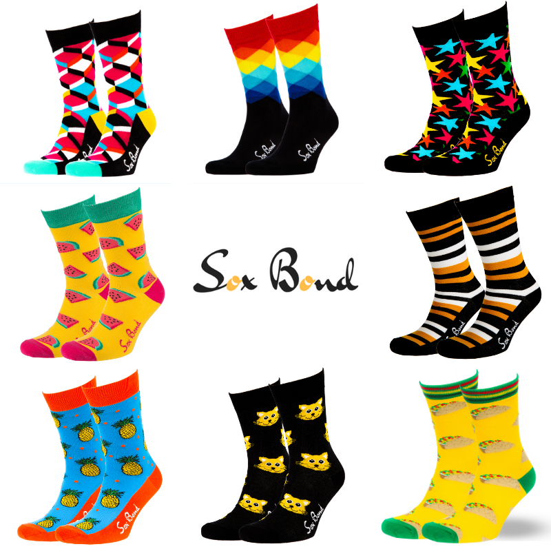 "8 pack ""Sox Bond"" + FREE SHIPPING"