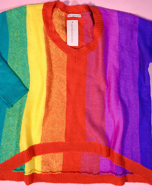 rainbow sweater