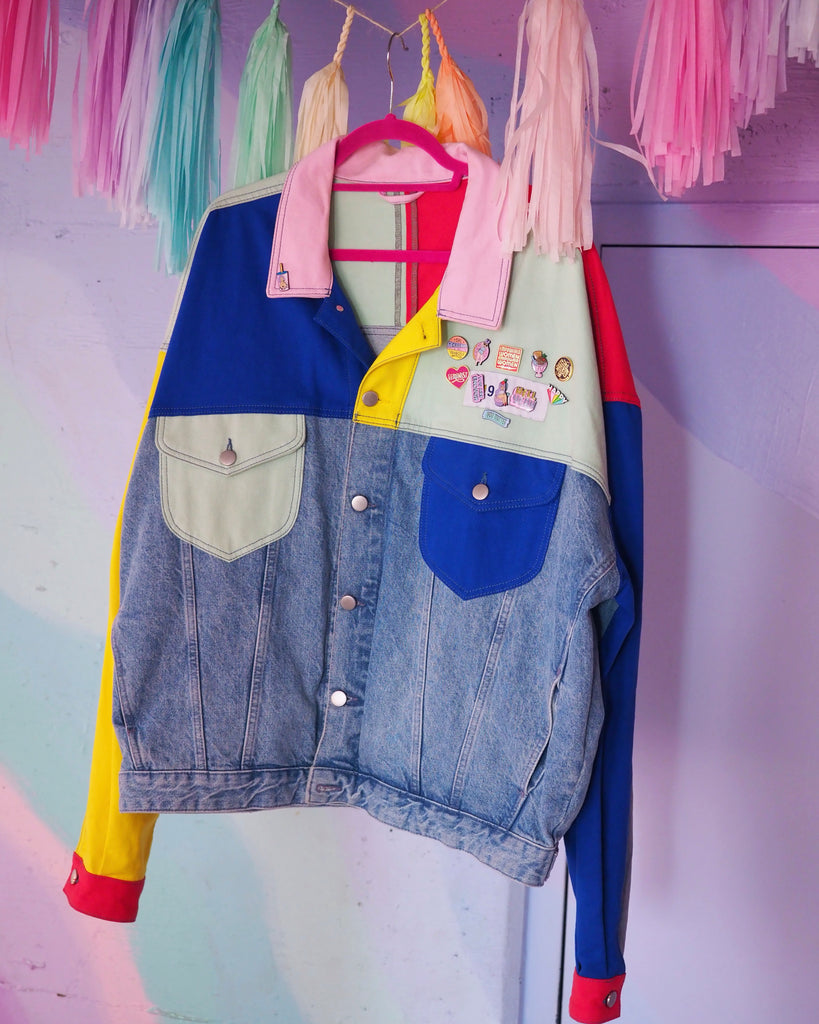 90's denim jacket
