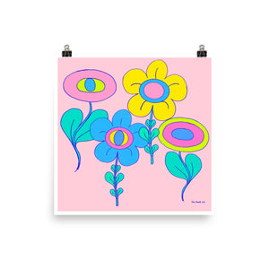 Cloudland Seeing Flower (matte print)