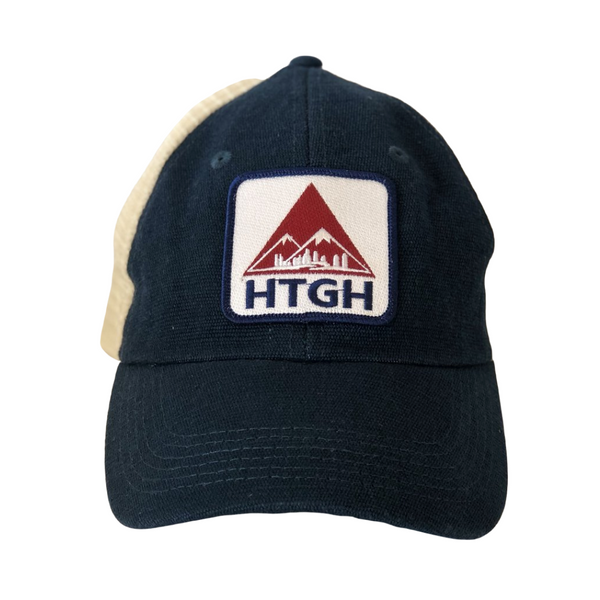 HTGH Boston Eco Hemp Patch Trucker Hat