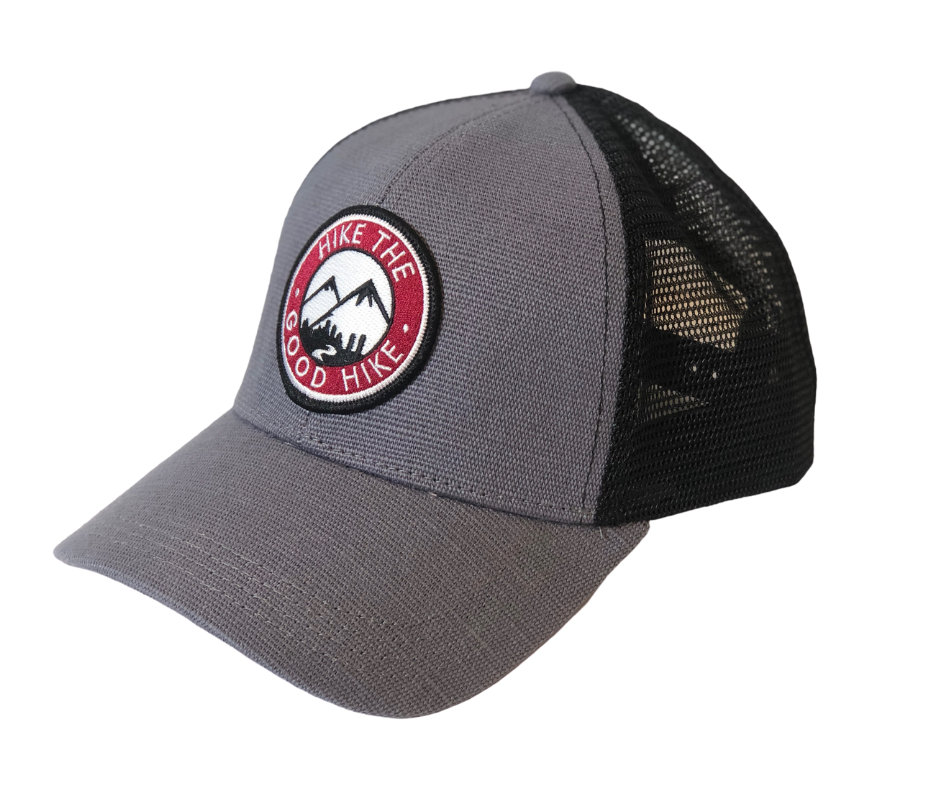 HTGH Eco Hemp Patch Trucker Hat