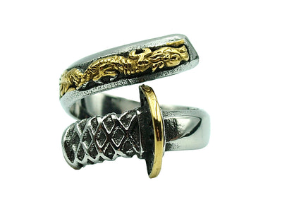 Samurai Sword ring - Urban Chains