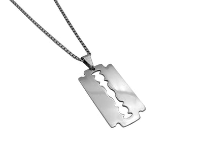 Classic Razor Blade necklace - Urban Chains
