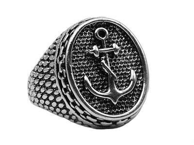 Classic Anchor ring - Urban Chains