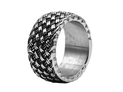 Barbed wire ring - Urban Chains