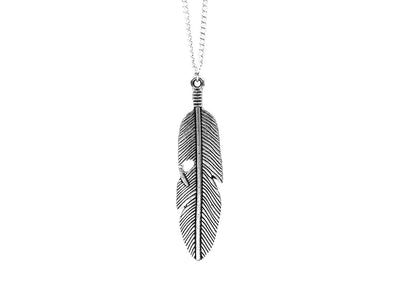 Classic Feather necklace - Urban Chains