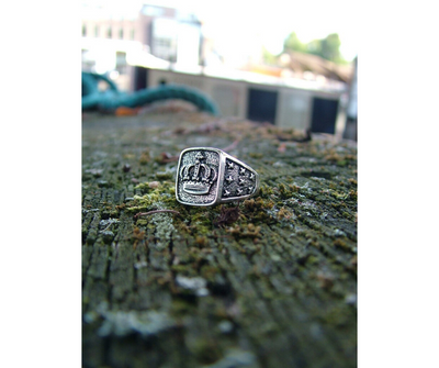Classic Crown ring - Urban Chains