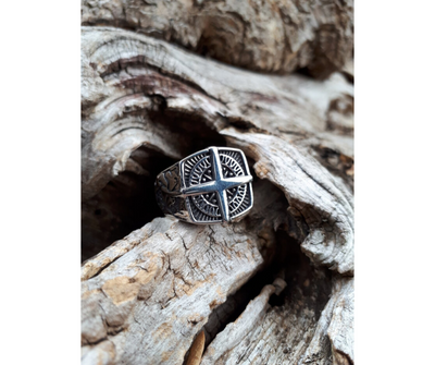 Compass ring - Urban Chains