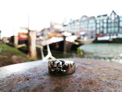 Death Skull ring - Urban Chains
