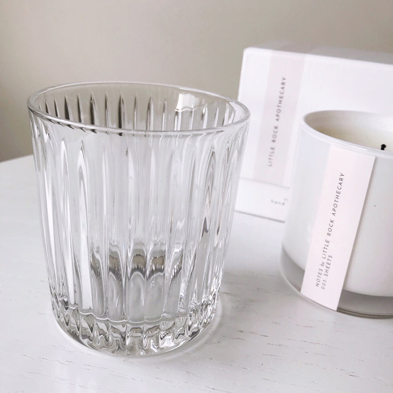 Free shipping ·  Ribbed Pattern Crystal Tumbler