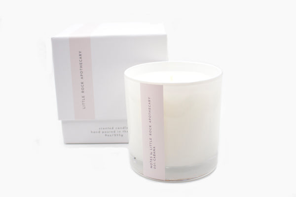 Cabana luxury soy scented candle gift box