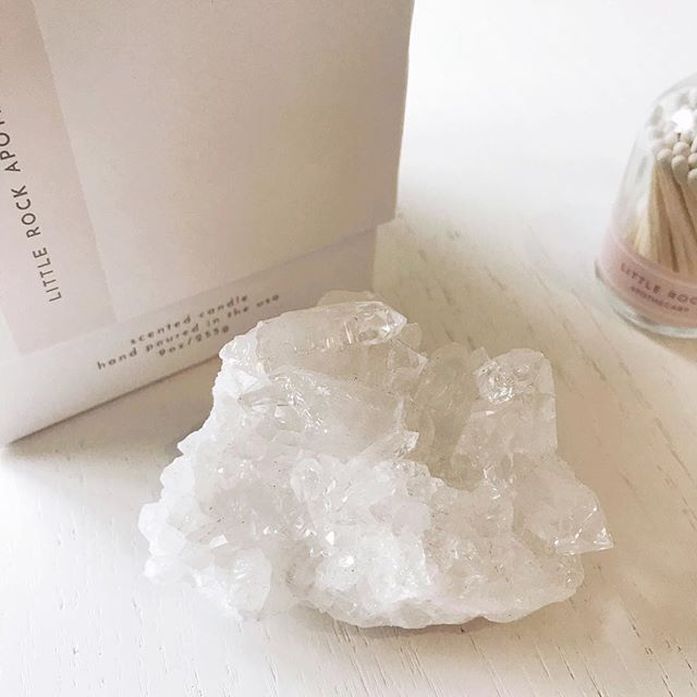 The EVERLY Crystal · Clear Quartz Cluster