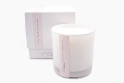 sheets luxury soy scented candle gift box
