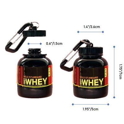 i-Whey - Portable Protein Powder Container (2-pack)