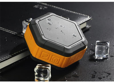 TheHEX™ - Extra-Rugged Portable Outdoor Waterproof Bluetooth Speaker