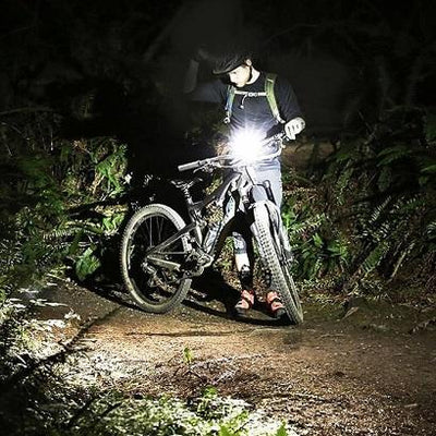 Smart Multifunctional 3-in-1 Bike Light with Computer