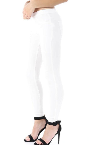 Salt Tree Women's Superline Lightweight Elastic Waistband Super Stretch Pants-SaltTree
