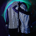 Yin Yang Tribal Sequin Vest