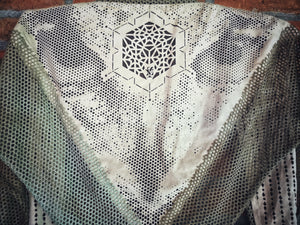 Cosmic Owl Shawl- Laser Cut Sacred Geometry