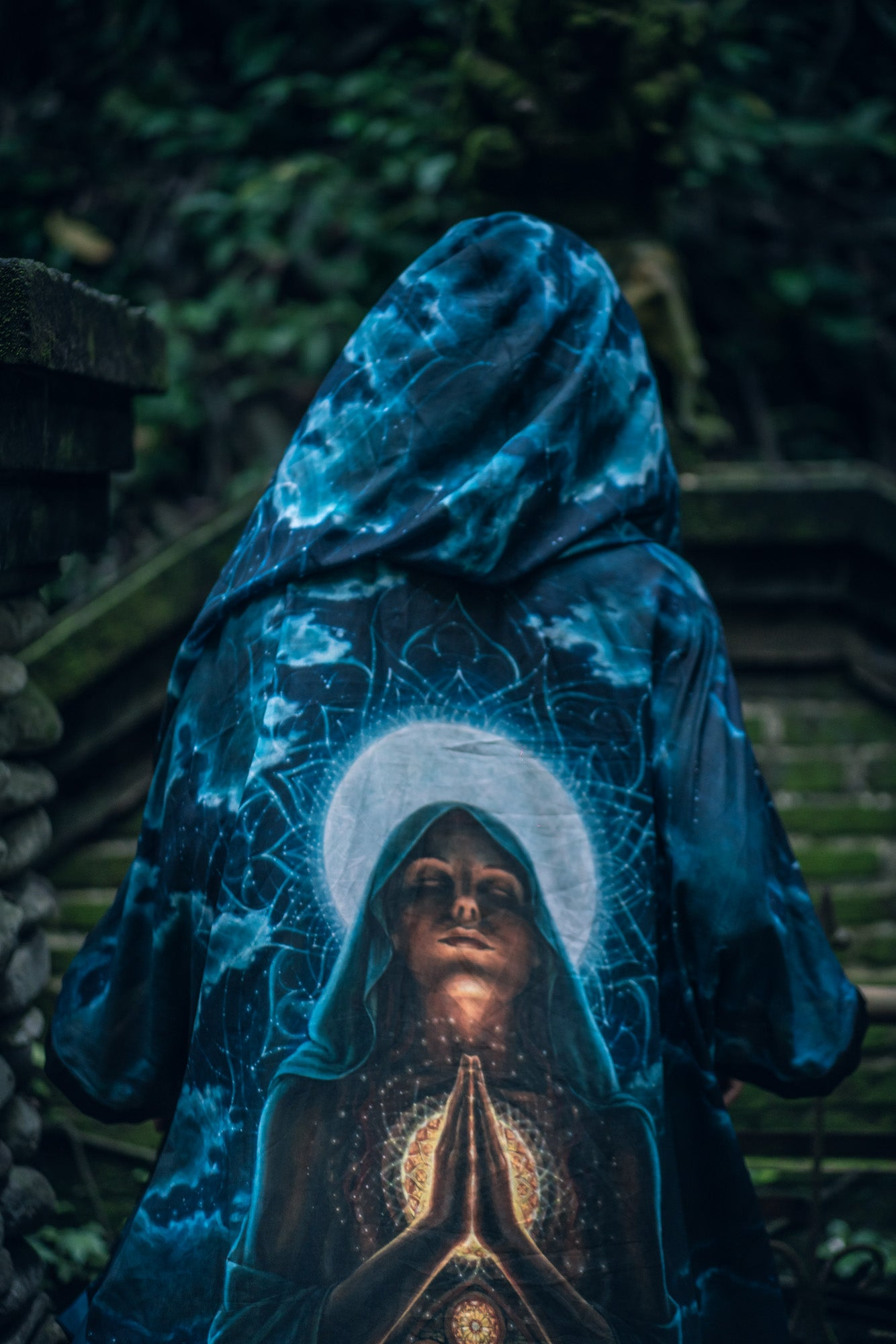 My Body, My Temple Hooded Kimono