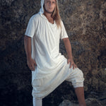 Hooded Jedi T-Shirt (White)