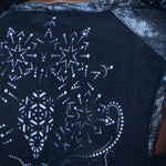 Bee Cosmic Laser Cut Vest (Black)