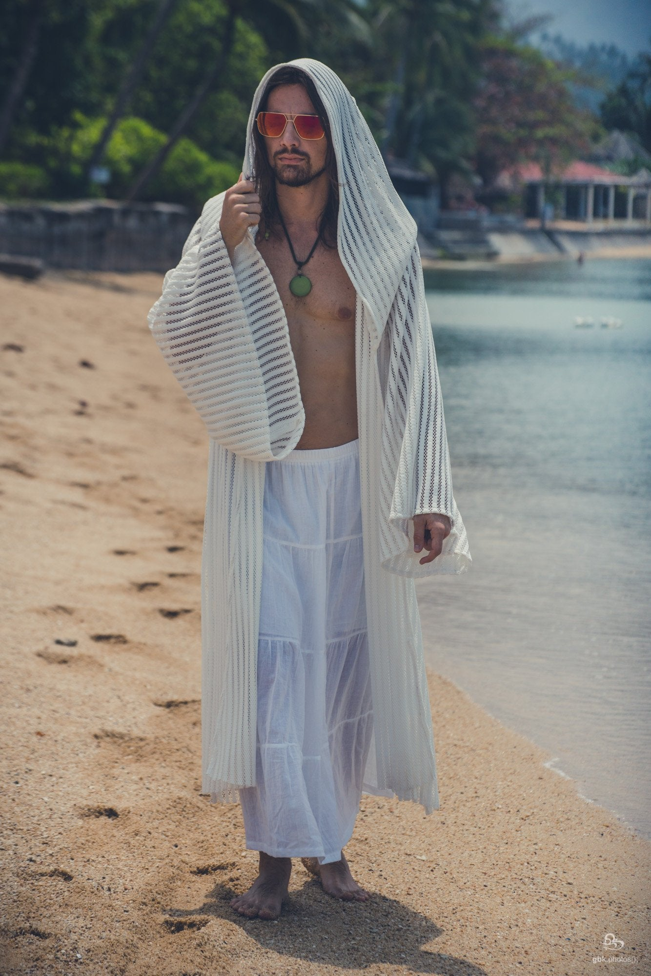 Intergalactic Druid Robe (White)