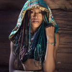 Tribal Sequin Fringe Hood (Multiple Colors)