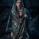 LED Tribal Shaman Cape (Turquesa)