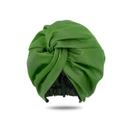 Dark Green Head Wrap