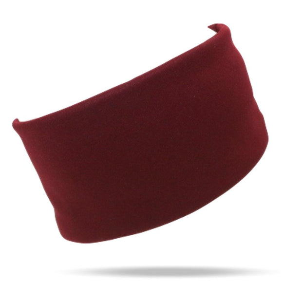 burgandy womens headband