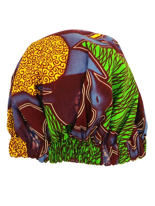womens sleeping african bonnet