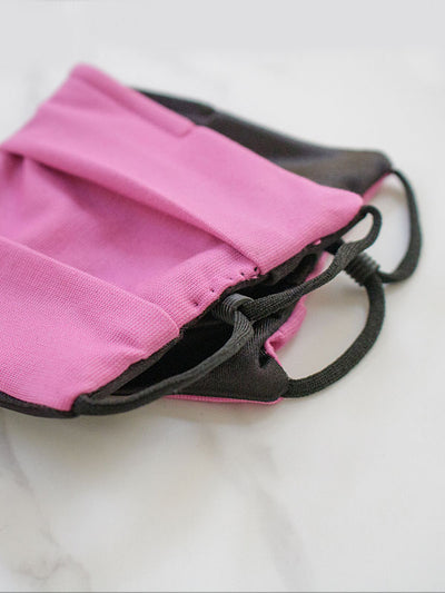 face mask with satin for women