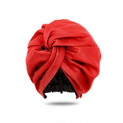 red turban | red head wrap