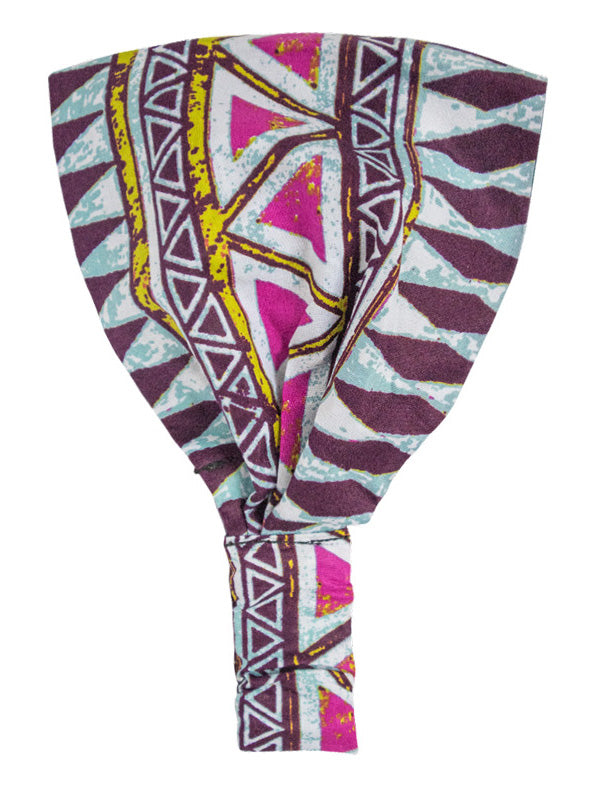 Tiye African Satin-lined Headband