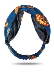 african print turban headband for women