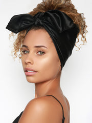Satin Scarf For Women | Pineapple Your Hair With Satin Head Scarf