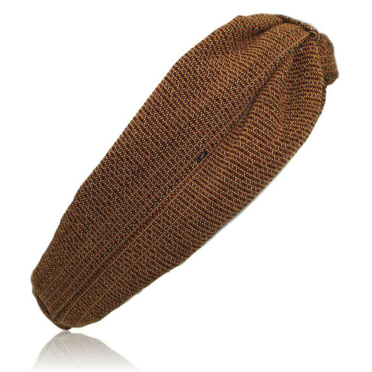 Red/Brown Woven Kente Turban Headband